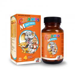 Champs Multivitamin Pineapple Botol 30 Tablet