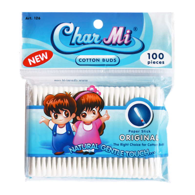 Charmi Cotton Buds ART 126 (100pcs) | Gogobli