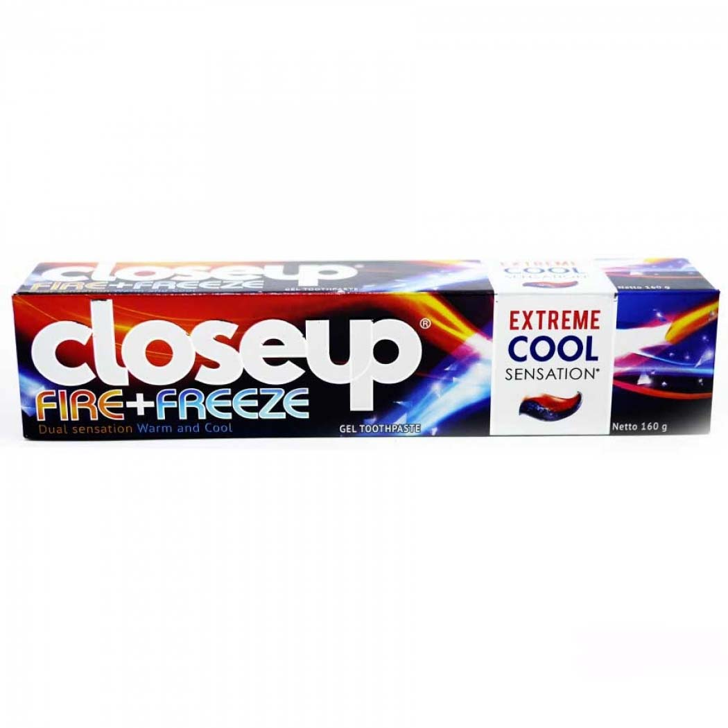 Close Up Toothpaste Fire Freeze 160gr Lihat Daftar Harga Terbaru Mentol Fresh 160gram Gaga Gogobli
