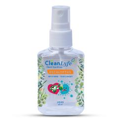 CleanLyfe Hand Sanitizer Eucalyptus Liquid Spray 60ml