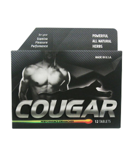 Natures Health Cougar 12 tablet