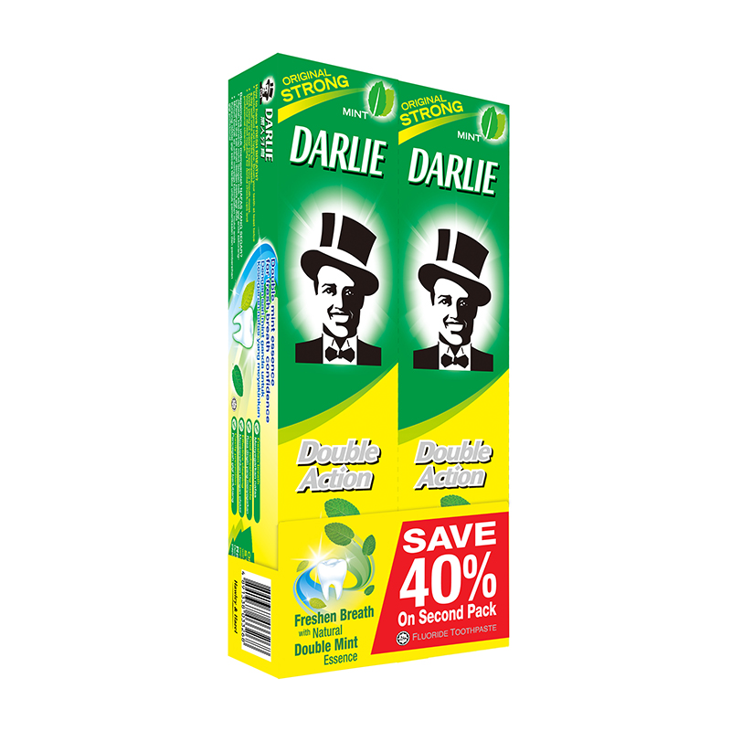 Darlie Double Action Twin Pack 2x225gr | Gogobli