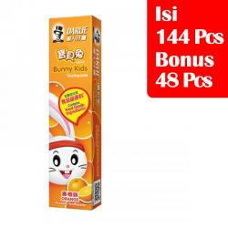 Darlie Kids Junior Orange 40gr (PAKET ISI 144 Pcs BONUS 48 Pcs)