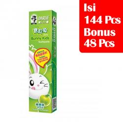Darlie Kids Junior Apple 40gr (PAKET ISI 144 Pcs BONUS 48 Pcs)