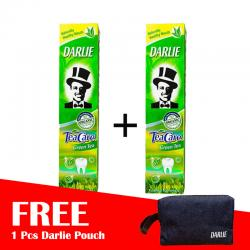 Darlie Tea Care Green Tea 160gr (BUY 2 FREE POUCH)