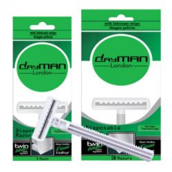 Dayman Twin Blade (with lubricant) 3 pcs