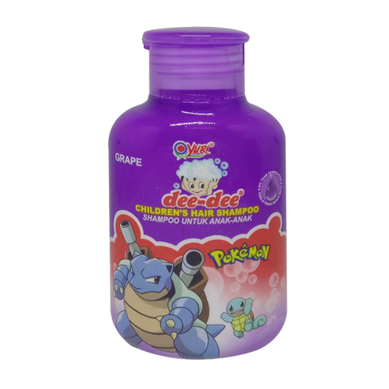 Dee Dee Childrens Hair Shampoo Grape Fliptop 125ml | Gogobli