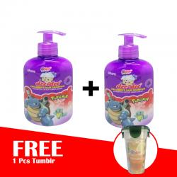 Dee Dee Childrens Hair Shampoo Grape Pump 250ml (BUY 2 FREE TUMBLR)