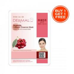 Dermal Strawberry Collagen Essence Mask (BUY 1 GET 1 FREE)