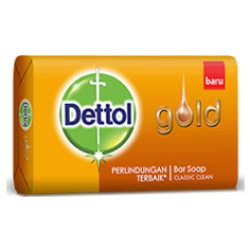 Dettol Gold Barsoap Classic Clean 65g