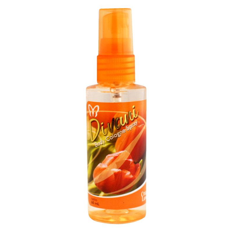 Divani Body Cologne Spray Orange 60ml Gogobli