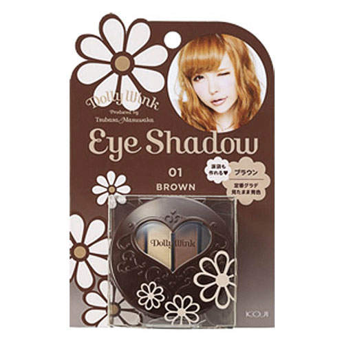 Dolly Wink Eye Shadow 01 Brown