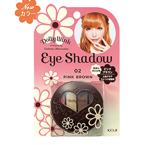Dolly Wink Eye Shadow 02 Pink Brown