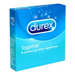 Durex Together 3 Sachet MIDDAYSALE | Gogobli