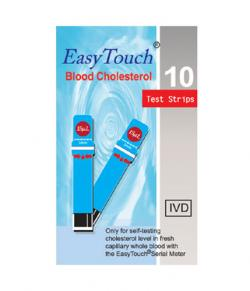 Easy Touch Blood Cholesterol 10 Strips