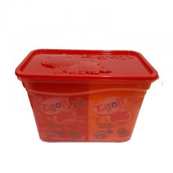 Egoji Chewy Gummy Strawberry Toples (20 Sachet @ 20gr)