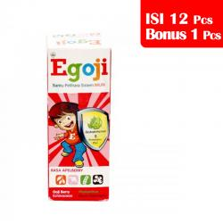 Egoji Syrup Apelberry 50ml (PAKET ISI 12pcs BONUS 1pc)