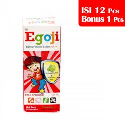 Egoji Syrup Apelberry 100ml (PAKET ISI 12pcs BONUS 1pc)