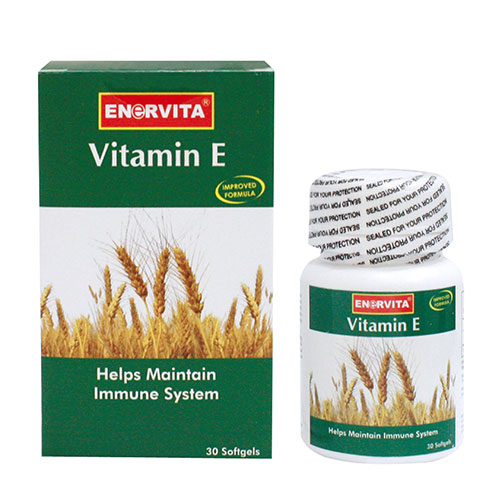 Enervita Vitamin E 200 Iu 30 Softgels