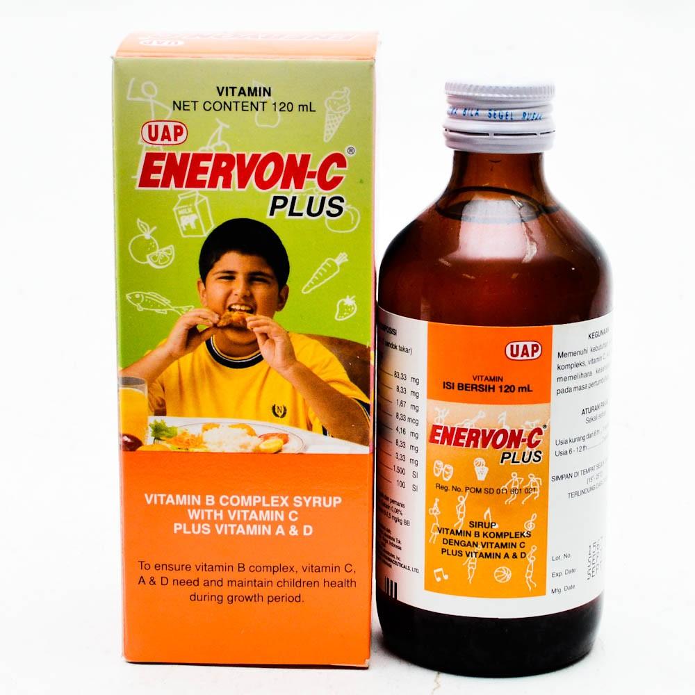 Enervon C Plus Syrup 120ml Gogobli