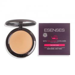 Esenses Two Way Cake with Snail Extract and Collagen Deep Peach