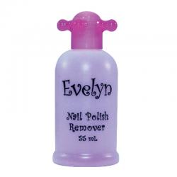Evelyn Nail Polish Remover Purple 55ml
