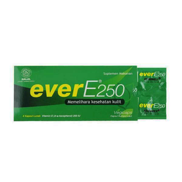 Ever E 250 Strip 6 Soft Capsule | Gogobli