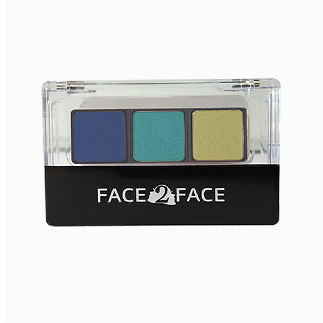 Face2Face Eye Shadow Green Royal 4gr | Gogobli