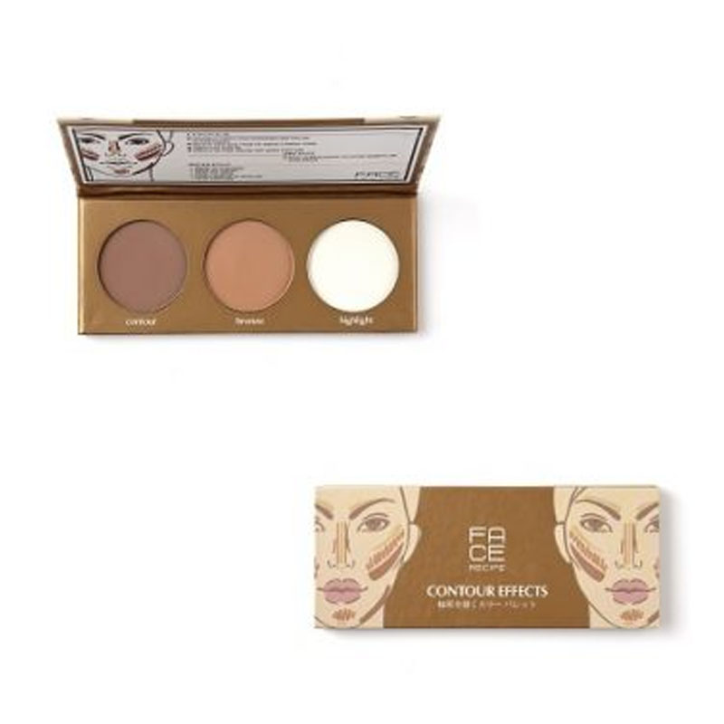 Face Recipe Contour Effects  ( Contour Palette ) | Gogobli