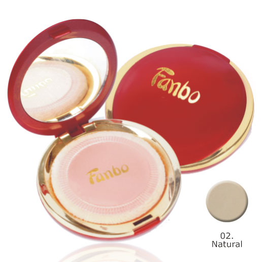 Fanbo Fantastic Compact Powder 02 Natural Gogobli