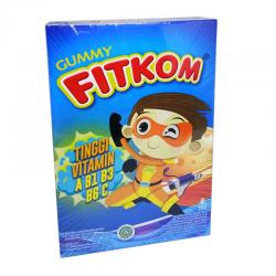 Fitkom Gummy Multivitamin Box (4 Sachet @12gr)