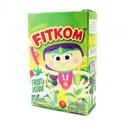 Fitkom Gummy Fruit and Veggie (5 Sachet @21gr)
