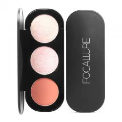 Focallure Blush and Highlighter Palette FA26-01 10.5gr