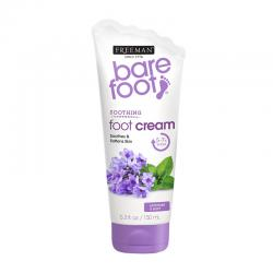 Freeman Bare Foot Soothing Foot Cream Lavender and Mint 150ml
