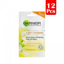 Garnier Light Complete Peel Of Mask 2x6ml (PAKET ISI 12pcs)