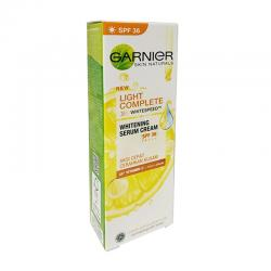 Garnier Light Complete Whitening Serum Cream Yuzu Lemon SPF36 20ml