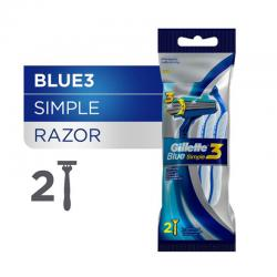 Gillette Blue Simple 3 (2pcs)