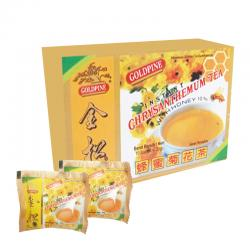 Gold Pine Chrysanthemum Tea with Honey (10 sachet @20gr)