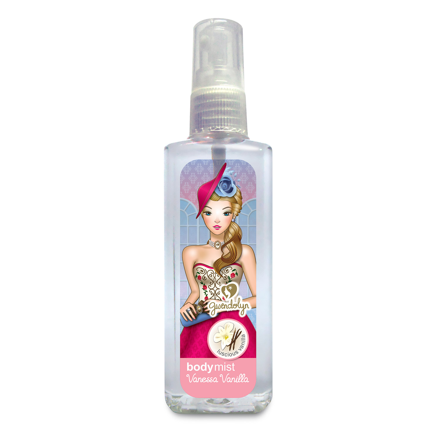 Gwendolyn Body Mist Vanessa Vanilla 100ml