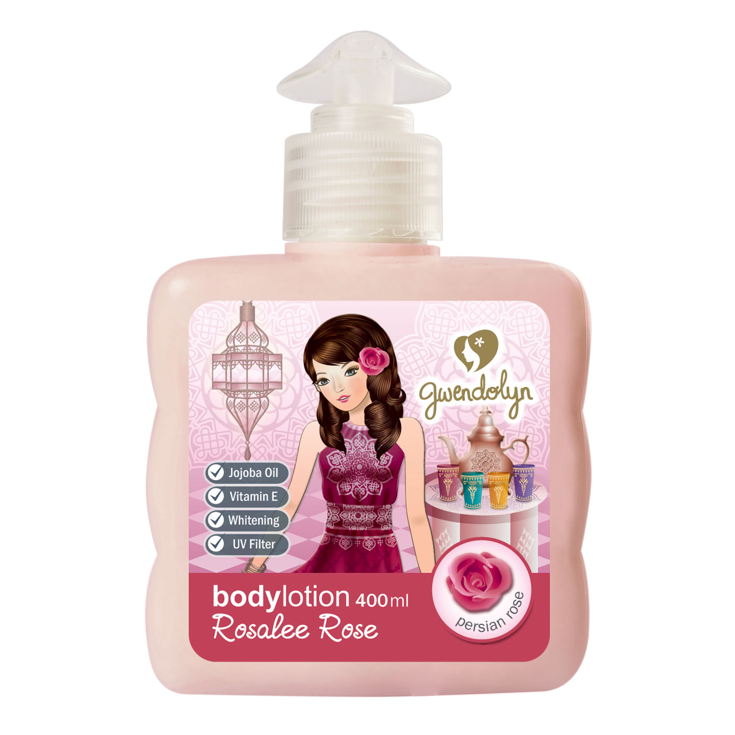 Gwendolyn Body Lotion Rosalee Rose 400ml