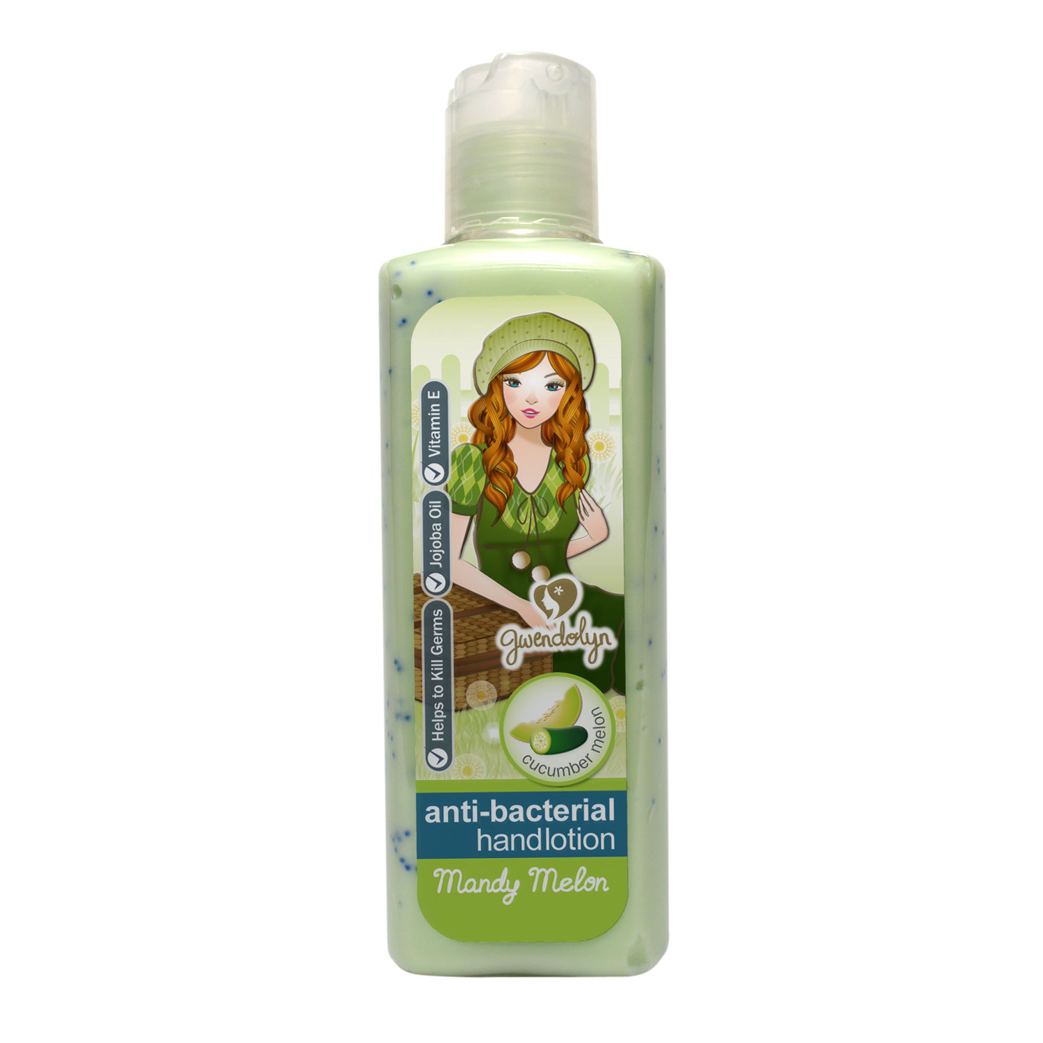 Gwendolyn Anti Bacterial Hand Lotion Mandy Melon 100ml
