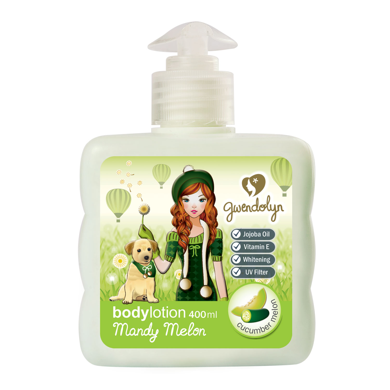 Gwendolyn Body Lotion Mandy Melon 400ml