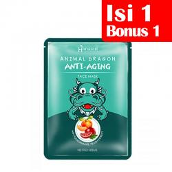 Hanasui Anti Aging Face Mask (Dragon) 25ml (BELI 1 Pc GRATIS 1 Pc)