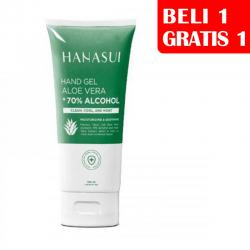 Hanasui Hand Gel Aloe Vera 100ml (BELI 1pc GRATIS 1pc)