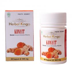 Herbal Kingo Kunyit 60 Kapsul @500mg