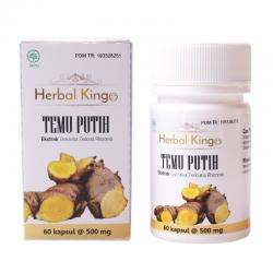 Herbal Kingo Temu Putih 60 Kapsul @550mg