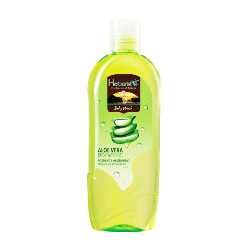 Jual Herborist Body Wash Gel Aloe Vera 250ml Gogobli