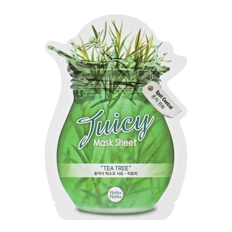 harga Holika Holika Tea Tree Juicy Mask Sheet Gogobli.com