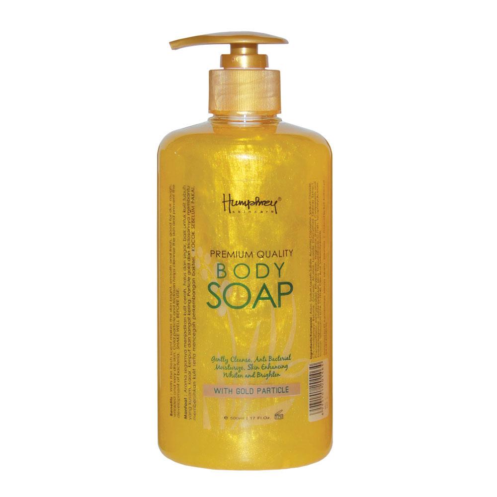 Humphrey Glowing Gold Anti Aging Body Soap 500ml ED
