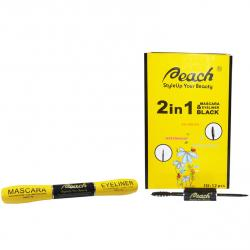 Peach Mascara and Eyeliner 2In1 Black